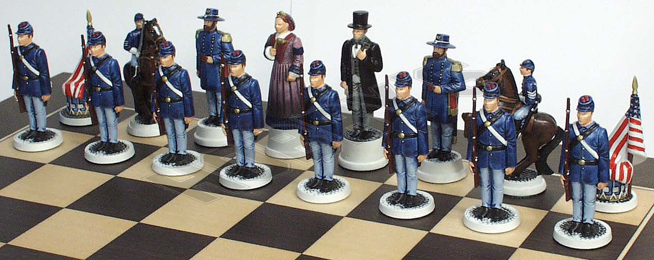 Union Chess Set