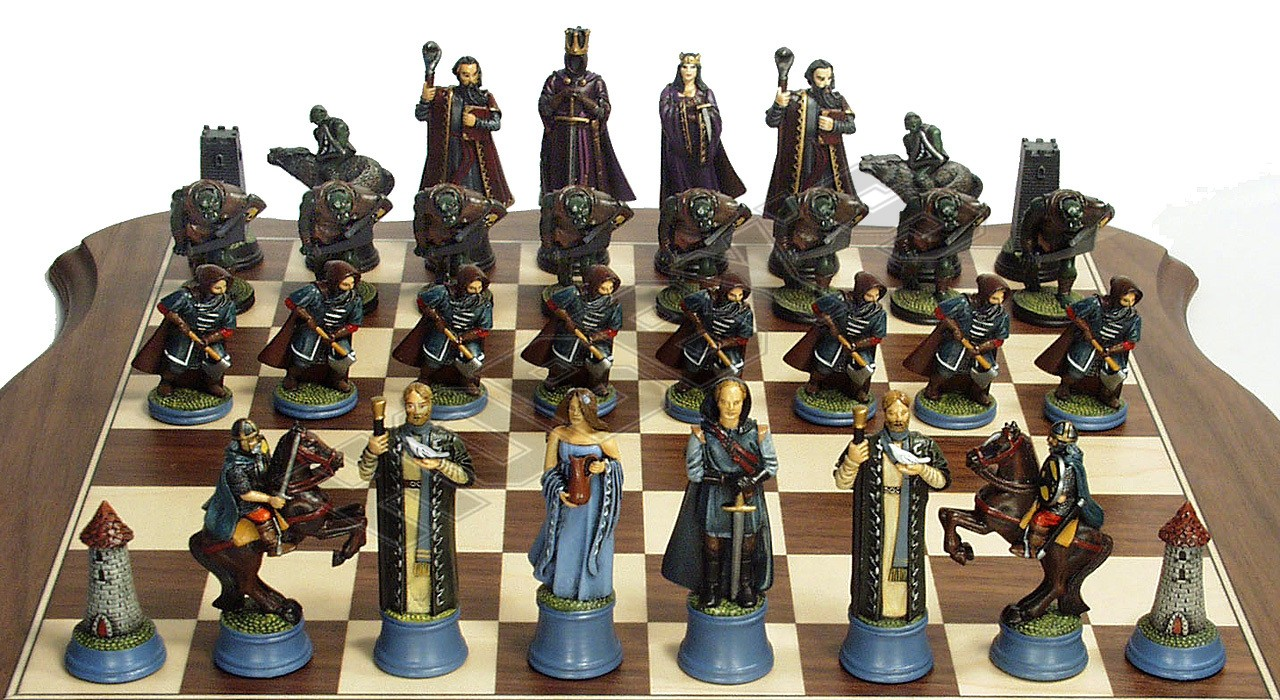 Fantasy Chess set ( nly lords of west included)