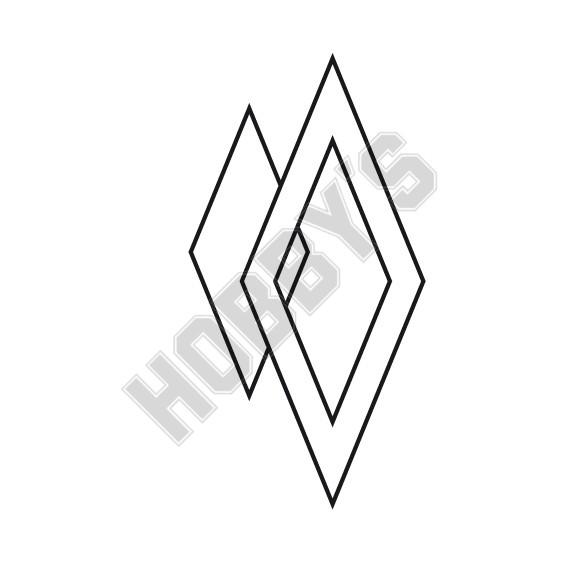 Pointed Diamond Shaped Fabric