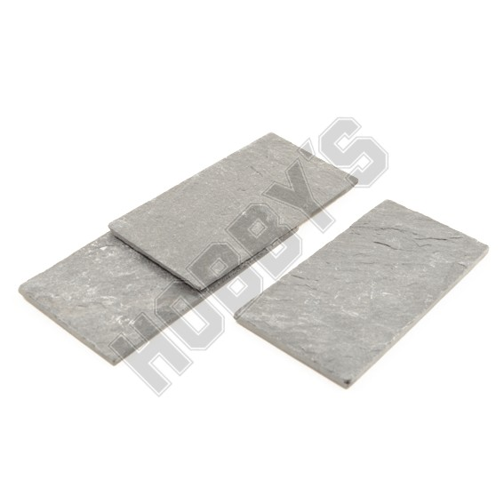 Real Slate Tiles - 1/12th Scale