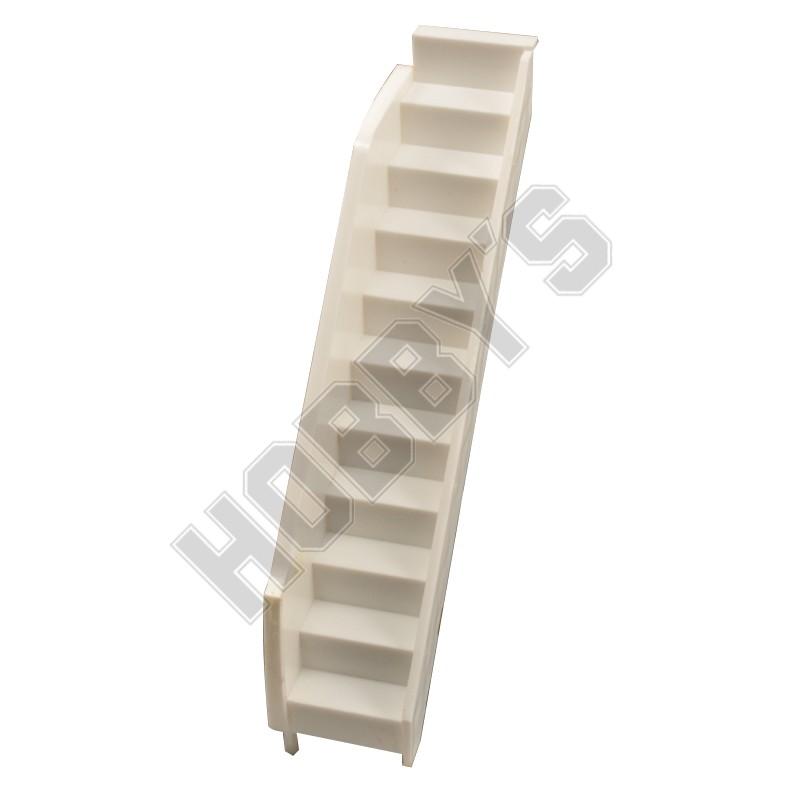 White Plastic Staircase