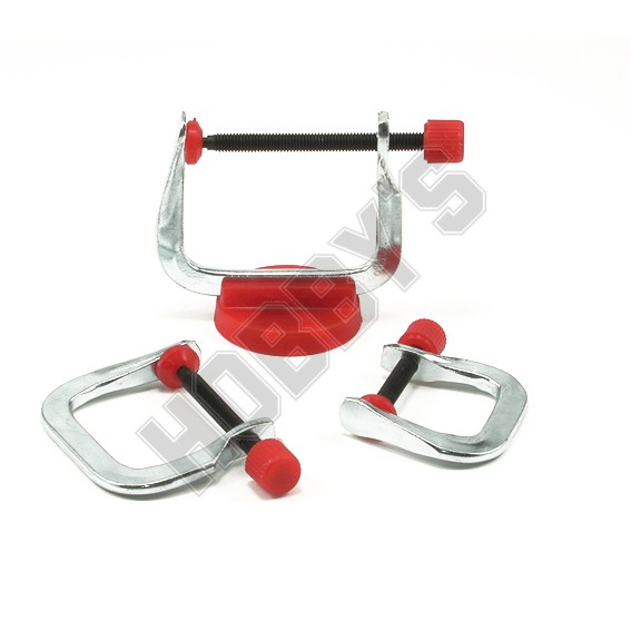 Set Of 3 G Clamps