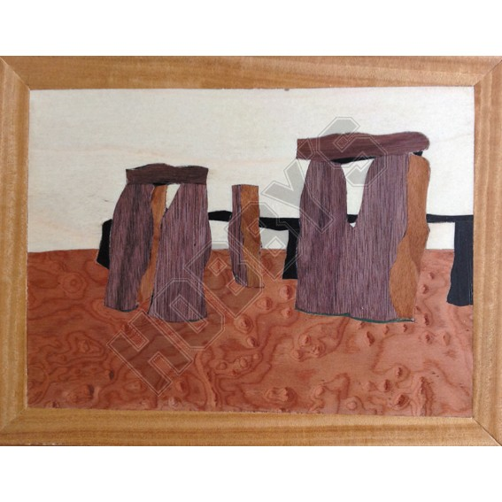 Traditional Marquetry Craft Kit - Stonehenge