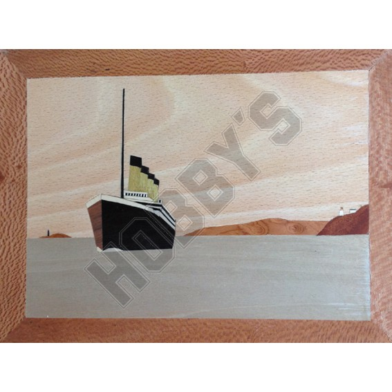 Traditional Marquetry Craft Kit - RMS Titanic