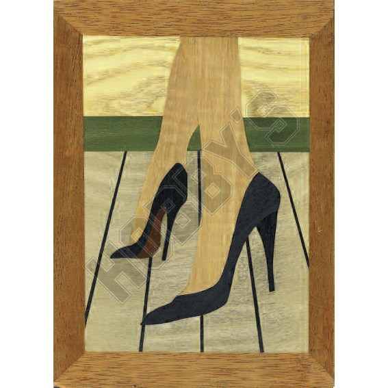 Marquetry Kit - Stepping Out