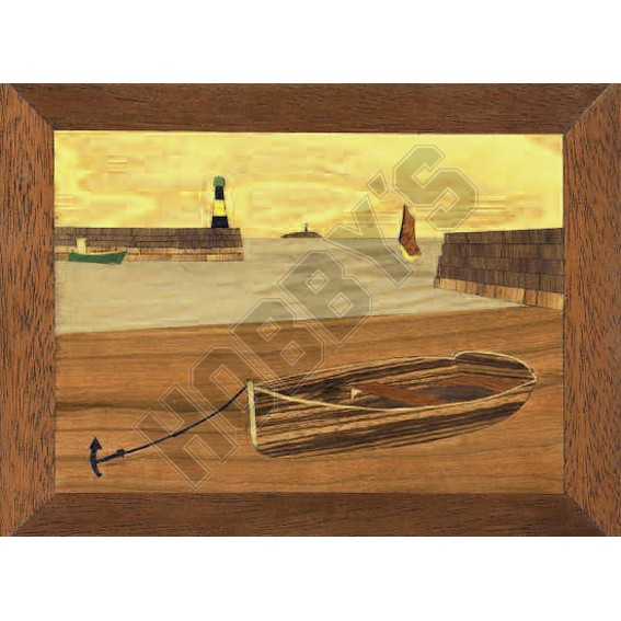 Marquetry Kit - Waiting For The Tide