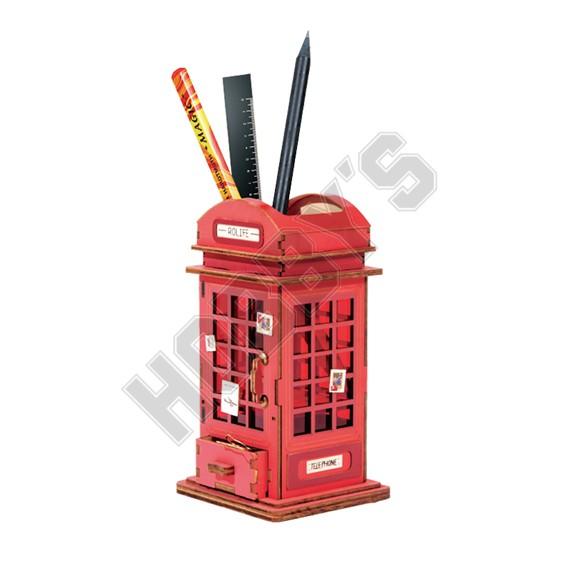 Phone Box Pen Holder