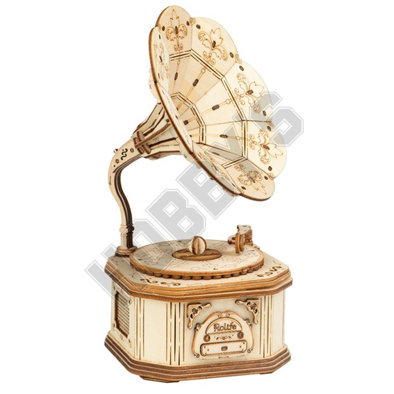 Gramophone 3D Puzzle