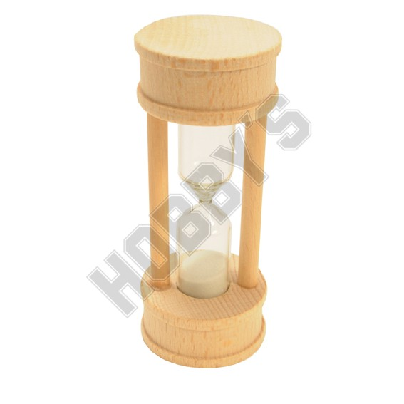 Wooden Hour Glass 3min