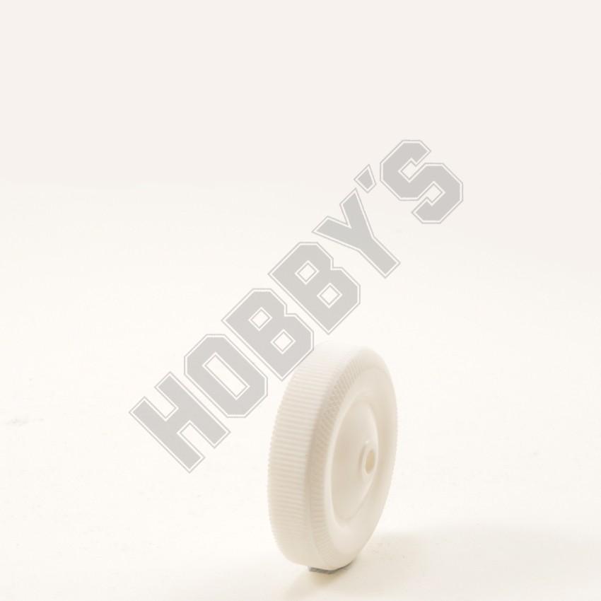 All White Plastic Wheel