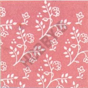 Julia Wallpaper - White On Pink