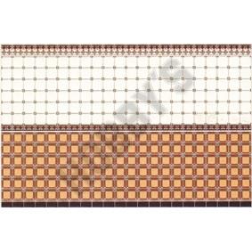 Fawn Brown Tile Wallpaper