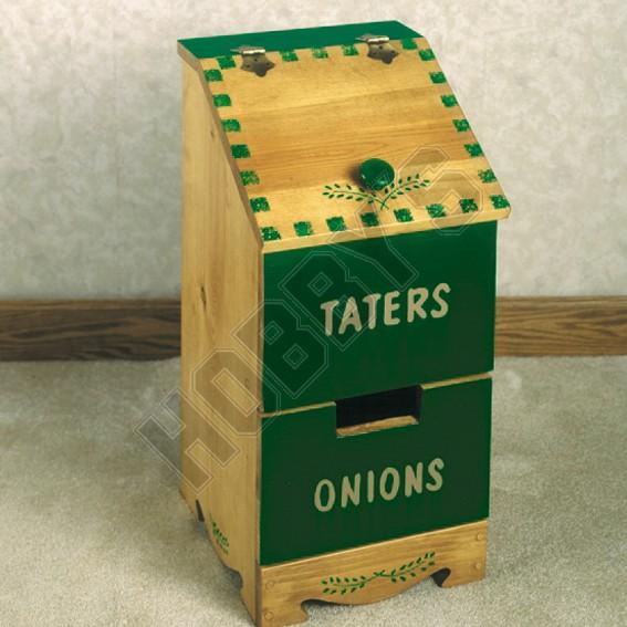 Taters & Onion Box Design