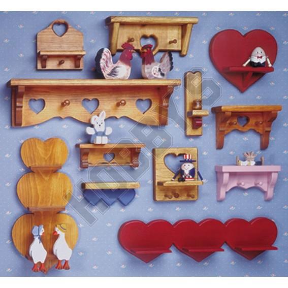 Heart Shelves