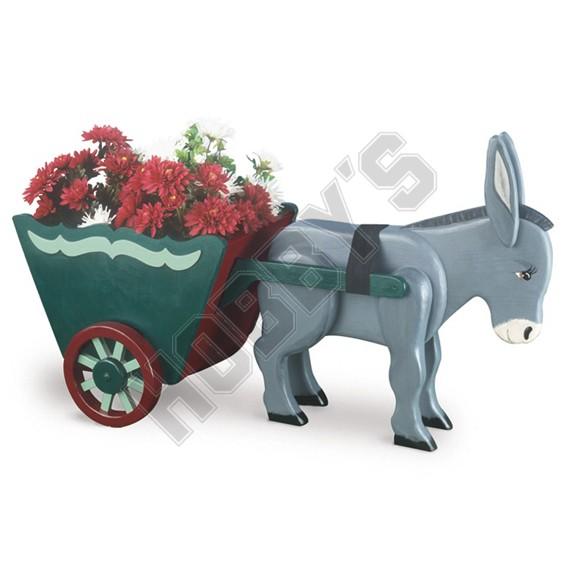 Donkey & Cart Planter Design