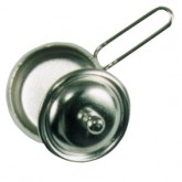 Silver Pan With Lid