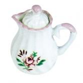 Coffee Pot - Rose Pattern