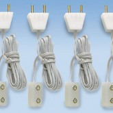 Spare Leads with Plug & socket