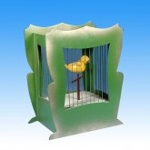 Singing Bird In Cage Kit