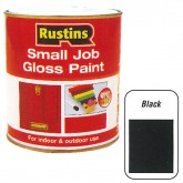 Gloss paint Black