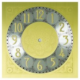 Ali Dial Brass Finish