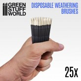 Disposable Weathering Brushes