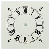 White Painted Dial