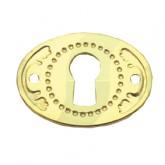 Brassed Keyhole Plate