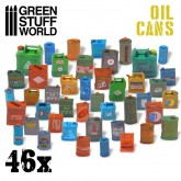 46 Resin Oil Cans