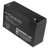 Powercell Rechargeable Gel Battery 6V-10Ah