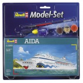 Aida Cruise Ship 1:1200 Model-set
