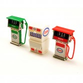 Petrol Pumps & Oil Cabinet