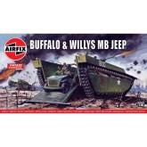 Airfix - Buffalo Amphibian & J
