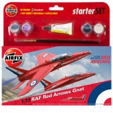 Airfix Kit - RAF Red Arrows Gnat