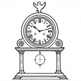French Mantel Clock Plan