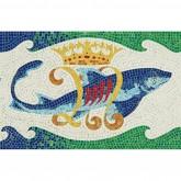Dolphin (Gaudi) - Mosaic Kit