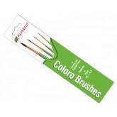 Paint Brush Set - Acrylic & Enamel