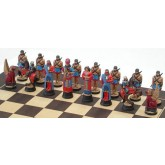 Assyrian side Sennacherib Chess Set