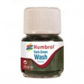 Humbrol Enamel Wash - Dark Green