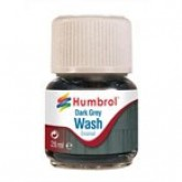 Humbrol Enamel Wash - Dark Grey