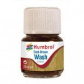 Humbrol Enamel Wash - Dark Brown