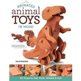 Book - Animated Animal Toys In Wood