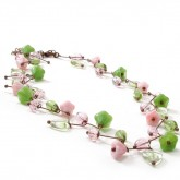 Vintage Style Flower Necklace