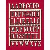 3D Adhesive Backed Letters