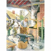The Blacksmith - Decoupage