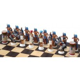 Egyptian Ramsis II Chess Set side