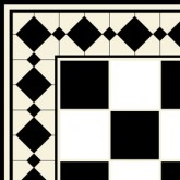 Tiles - Black On White
