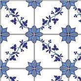 Tile Sheet - Blue/White