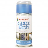 Glass Etch - Blue