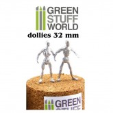 Armature Dollies 32mm x 4